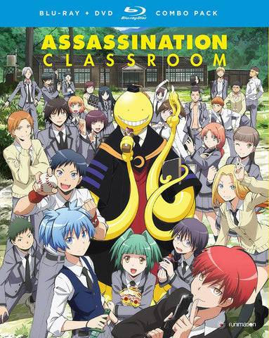 Assassination Classroom Blu-ray/DVD Combo Season 1 Part 1