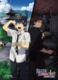 Blue Exorcist: Kyoto Saga Rin & Yukio Split Wall Scroll
