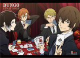 Bungo Stray Dogs: Group Cards Wall Scroll