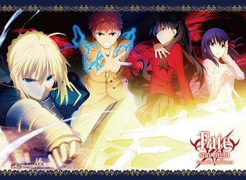 Fate/Stay Night: Saber Group Wall Scroll