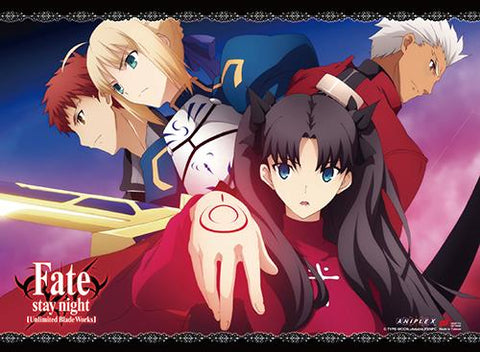 Fate/Stay Night: Rin Group Wall Scroll