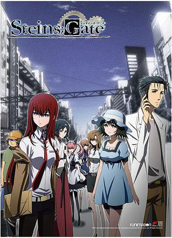 Steins;Gate: Key Art 2 High-End Wall Scroll