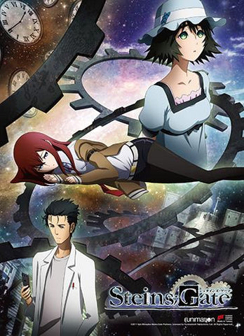 Steins;Gate: Key Art High-End Wall Scroll