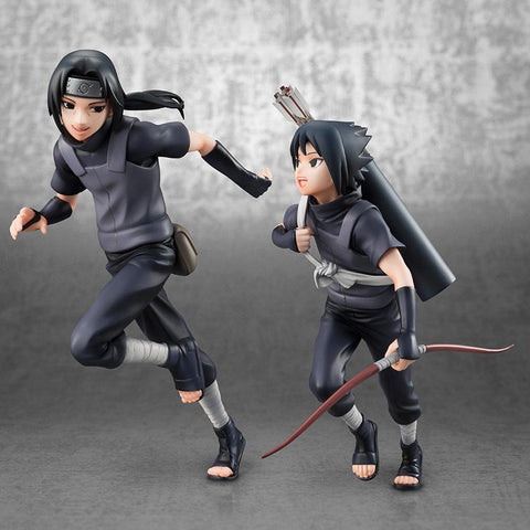 Naruto: Sasuke and Itachi GEM Figurine