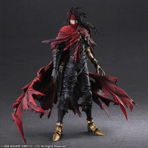 Final Fantasy Dirge of Cerberus: Vincent Vanentine Play Arts -Kai- Action Figure