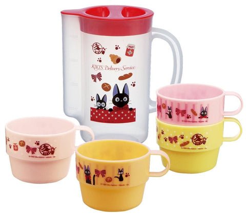 Kiki's Delivery Service: Jiji Stacking Cups and Pitcher