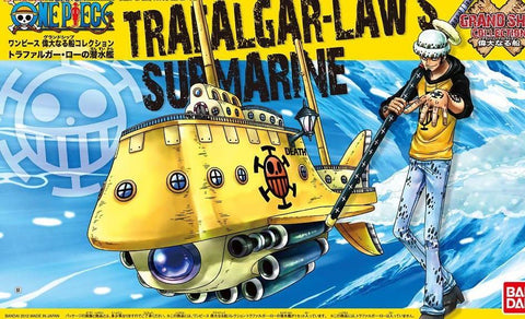 One Piece: Trafalgar Law`s Submarine Grand Ship Collection Model