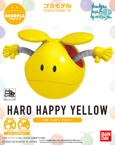 Gundam: Happy Yellow Haro Haropla