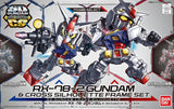 Gundam: RX-78-2 Gundam & CS Frame Set SDCS Model