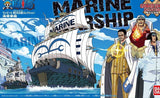 One Piece: Marine Warship Grand Ship Collection Model
