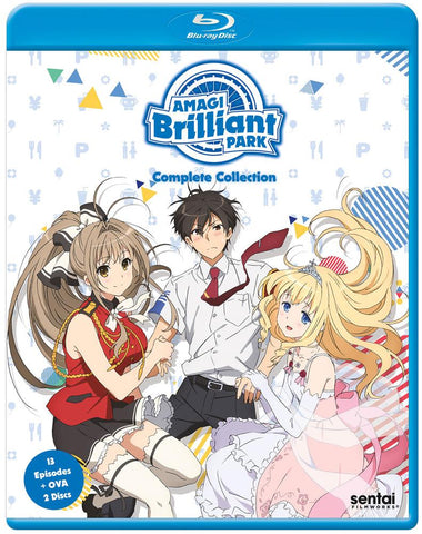 Amagi Brilliant Park Complete Series Blu-Ray
