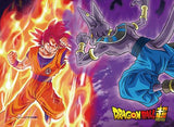 Dragon Ball Super: Goku vs. Beerus Wall Scroll