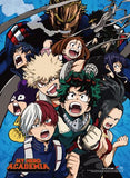 My Hero Academia: Season 2 Group 1 Wall Scroll