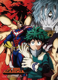 My Hero Academia: Deku, All Might, Shigaraki Wall Scroll