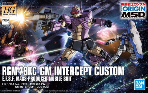 Gundam: GM Intercept Custom HG Model