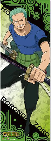 One Piece: Zoro Human Sized Wall Scroll