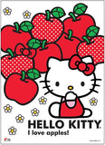 Hello Kitty: Hello Kitty & Apples Wall Scroll