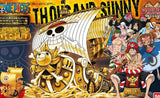 One Piece: Thousand Sunny 'Gold` Anniversary Color Ver. Grand Ship Collection Model