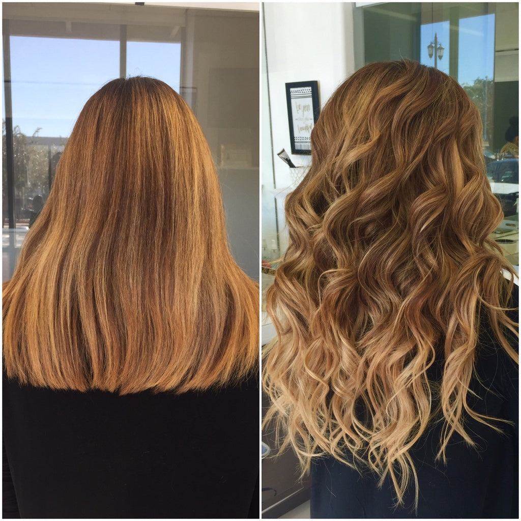 Want an instant ombré hair color without having to color your hair?