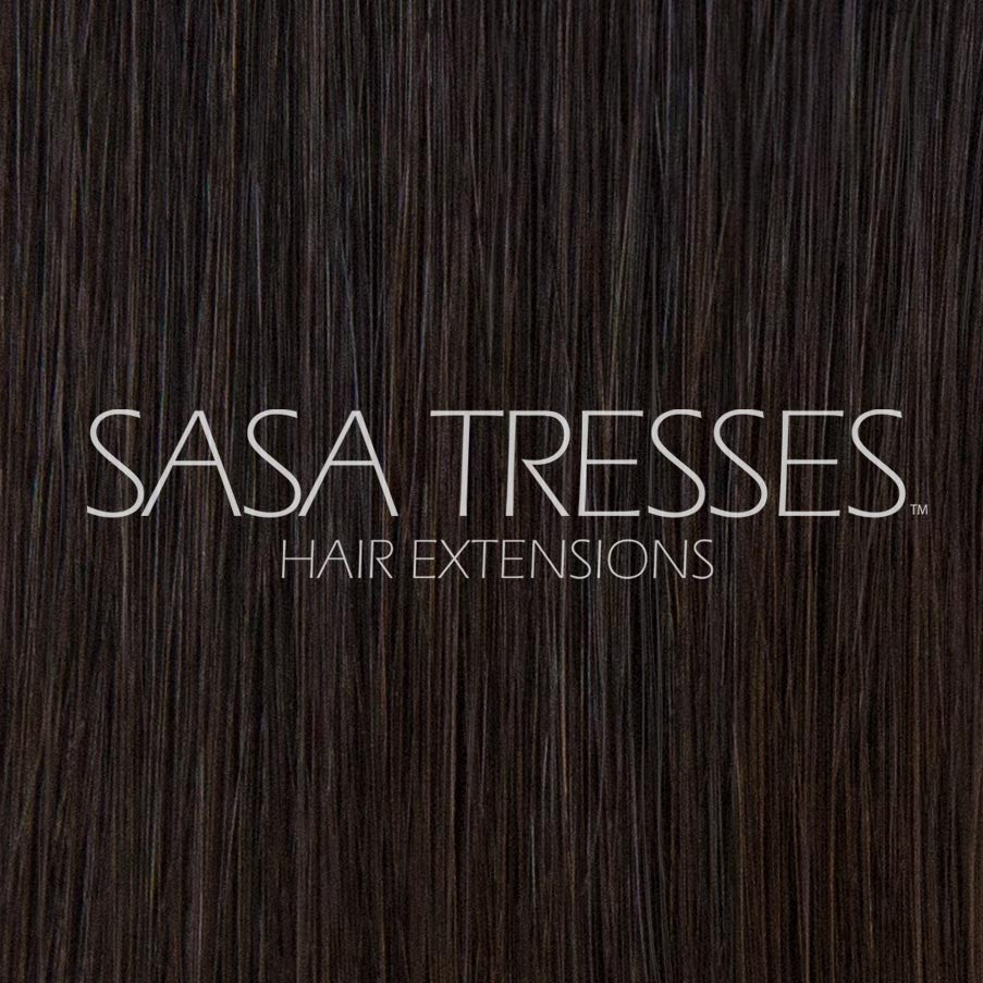 #1b Midnight Mimosa Clip In Hair Extensions - SASA TRESSES