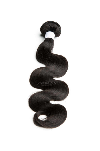 Indian Body Wave Wefted Hair