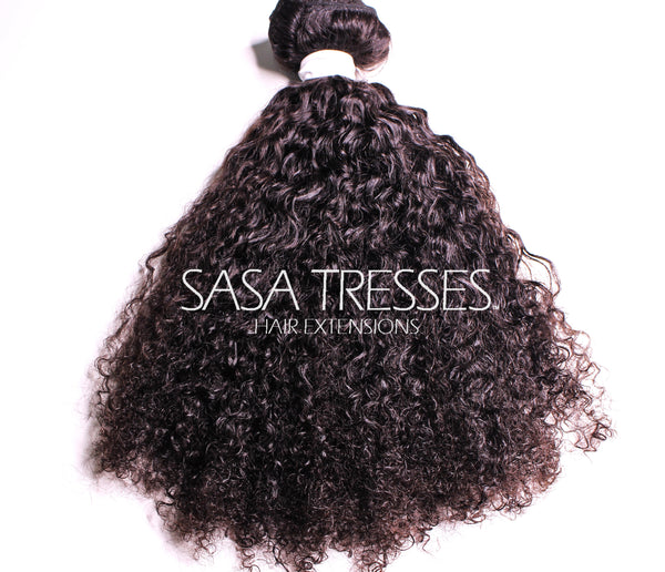 Afro Kinky Curly Clip In Hair Extensions