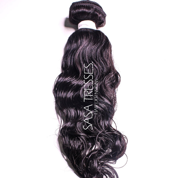 loose Curl Clip in Hair Extensions