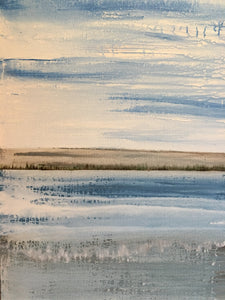 abstract water landscape