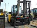 "2011 YALE GDP190 19000 LB DIESEL FORKLIFT PNEUMATIC 165/212"" 2 STAGE MAST DUAL TIRES SIDE SHIFTER 96"" FORKS STOCK # BF9359779-DIENC - United Lift Used & New Forklift Telehandler Scissor Lift Boomlift"