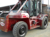 "2007 Taylor TB250M 25000 LB CAPACITY ROUGH TERRAIN DIESEL FORKLIFT 157/180"" 2 STAGE MAST SIDE SHIFTER & FORK POSITIONER STOCK # BF9495329-DIENC"