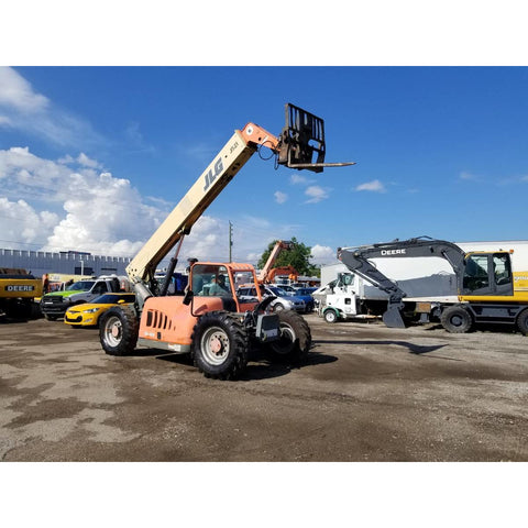 2005 JLG G6-42A 6000 LB DIESEL TELESCOPIC FORKLIFT 4WD 3158 HOURS STOCK # BF9309789-399-BUF - Buffalo Forklift LLC