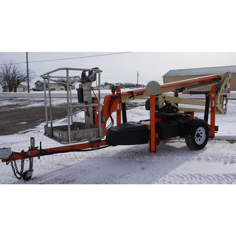 2007 JLG T350 TOWABLE BOOM LIFT AERIAL LIFT 35' REACH 4WD STOCK # BF9134449-219-MYROH