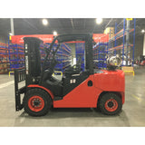 BRAND NEW 2020 HANGCHA CPYD50 10000 LB FORKLIFT LP PNEUMATIC 91/185 3 STAGE MAST SIDE SHIFTER STOCK # BF9376789-499-BUF