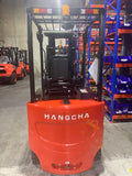 2019 HANGCHA CPD30-XD2-C 6000 LB FORKLIFT ELECTRIC 4 WHEEL CUSHION 83/185 3 STAGE MAST SIDE SHIFTER STOCK # BF929589-BUF