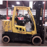 2011 HYSTER S120 12000 LB LP GAS FORKLIFT CUSHION 99/208 3 STAGE MAST 5185 HOURS STOCK # BF9249759-369-RUSB