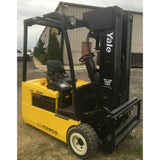 2007 YALE ERP040THN36TE094 4000 LB 94/217 3 STAGE MAST 36 VOLT ELECTRIC FORKLIFT CUSHION SIDE SHIFTER 3485 HOURS STOCK # BF987549-169-IN - Buffalo Forklift LLC