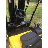 2008 YALE ERP040TGN36TQ082 4000 LB QUAD MAST 36 VOLT ELECTRIC FORKLIFT CUSHION 3 STAGE MAST SIDE SHIFTER STOCK # BF9112579-169-IN - Buffalo Forklift LLC