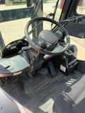 2015 TOYOTA 8FGU30 6000 LB LP GAS FORKLIFT PNEUMATIC 87/187 3 STAGE MAST SIDE SHIFTER ENCLOSED CAB 2896 HOURS STOCK # BF952311-RIL