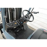 2012 TOYOTA 8FGCU30 6000 LB LP GAS FORKLIFT CUSHION 92/198 3 STAGE MAST SIDE SHIFTER 3449 HOURS STOCK # BF85151-DPA