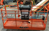 2012 JLG 600S TELESCOPIC BOOM LIFT AERIAL LIFT 60' REACH DIESEL 4WD 1885 HOURS STOCK # BF9454529-ISNY
