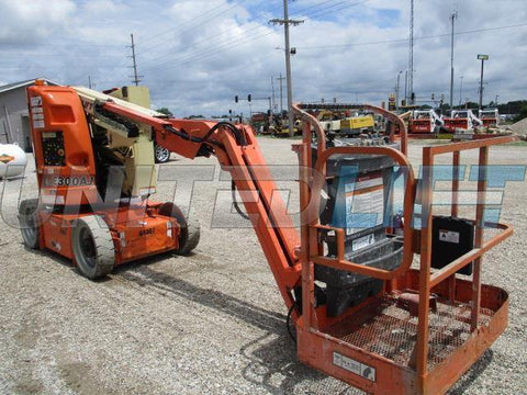 2007 JLG E300AJ ARTICULATING BOOM LIFT AERIAL LIFT 30' REACH ELECTRIC 1301 HOURS STOCK # BF9115169-CEIL