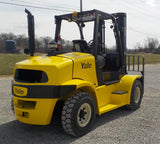 2014 YALE GDP155VX 15500 LB DIESEL FORKLIFT PNEUMATIC 108/134 2 STAGE MAST DUAL TIRES 6456 HOURS STOCK # BF9365159-499-INB