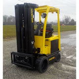 2015 HYSTER E50XN-27 5000 LB ELECTRIC CUSHION 88/199 3 STAGE MAST SIDE SHIFTER STOCK # BF9152539-INB - United Lift Used & New Forklift Telehandler Scissor Lift Boomlift