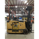 2012 DREXEL SLT35AC 3500 LB 36 VOLT ELECTRIC FORKLIFT CUSHION 95/276 4 STAGE UNIQUE SWING MAST STOCK # BF9229989-329-BUF