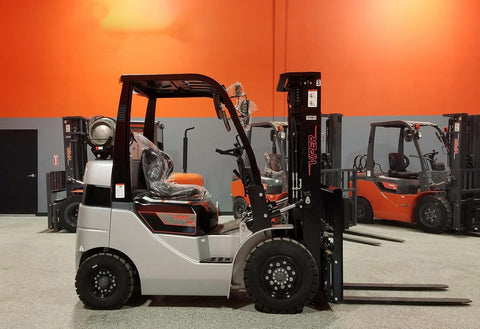 "2021 VIPER FY25 5000 LB LP GAS FORKLIFT PNEUMATIC 85/189"" 3 STAGE MAST SIDE SHIFTER BRAND NEW STOCK # BF9196329-ILIL - United Lift Used & New Forklift Telehandler Scissor Lift Boomlift"
