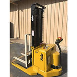2005 YALE MSW040SEN24TV087 4000 LB ELECTRIC FORKLIFT WALKIE STACKER CUSHION 87/130 2 STAGE MAST 1361 HOURS STOCK # 5231-558288-ARB - united-lift-equipment