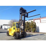 2013 HYUNDAI 130D-7E 28000 LB DIESEL FORKLIFT PNEUMATIC 140/157 2 STAGE MAST SIDE SHIFTING FORK POSITIONER STOCK # BF9043779-ESPA