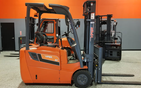 "2020 VIPER FB20S 4000 LB 48 VOLT ELECTRIC FORKLIFT PNEUMATIC 84/189"" 3 STAGE MAST SIDE SHIFTER STOCK # BF9279549-ILIL - United Lift Used & New Forklift Telehandler Scissor Lift Boomlift"