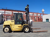 2006 YALE GP210DC 21000 LB LP GAS PNEUMATIC 162/212 2 STAGE MAST FORKLIFT ENCLOSED CAB STOCK # BF9017399-ESPA