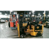 2000 BENDI B40/48E-180D 4000 LB CAPACITY ELECTRIC FORKLIFT CUSHION 89/240 QUAD MAST 589 HOURS STOCK # BF9109199-ALTB
